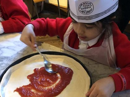 Year 1 - Pizza Express Trip - 12.02.2020