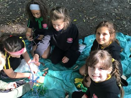 Forest School Workshop - Year 4 - 11.09.2020