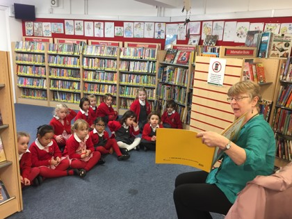 West Hampstead Library Trip - 08.10.2019 - Reception