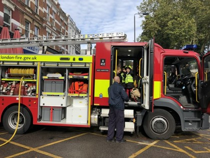 West Hampstead Fire Station Trip - Year 1 - 10.10.2019