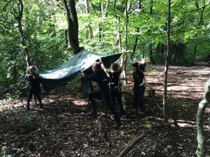 Forest Schools Trip - Year 4 - 08.10.2019